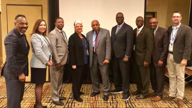 DOCCS Leadership attend 2019 NYS MICJ Symposium
