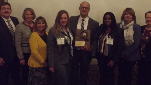 DOCCS AEDC Martuscello receives NY CAYSA Award